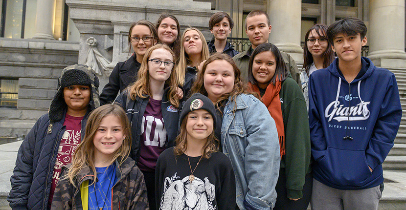 Canadian Youth Plaintiffs in Climate Lawsuit